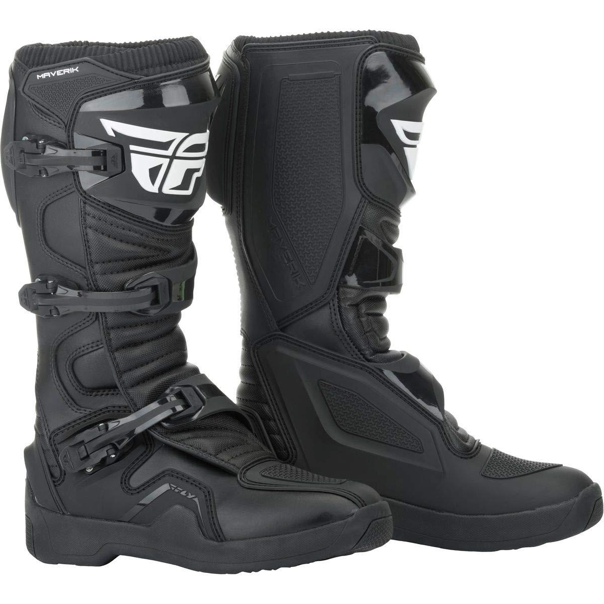 Fly 364-67110 Racing 2019 Maverik Motocross Boots US 10 Black (UK 9)