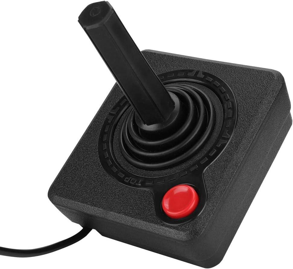 Joystick Controller, Retro Classic Analog Joystick, 9pin Wired Fighting Joystick Game Controller, 3D Game Control for Atari 2600/7800