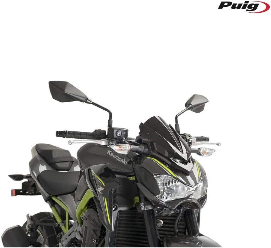 LIWIN Moto Accessori For Kawasaki Z900 2017 2018 2019 2020 Accessori Moto schermo parabrezza Parabrezza carenatura Color : Black