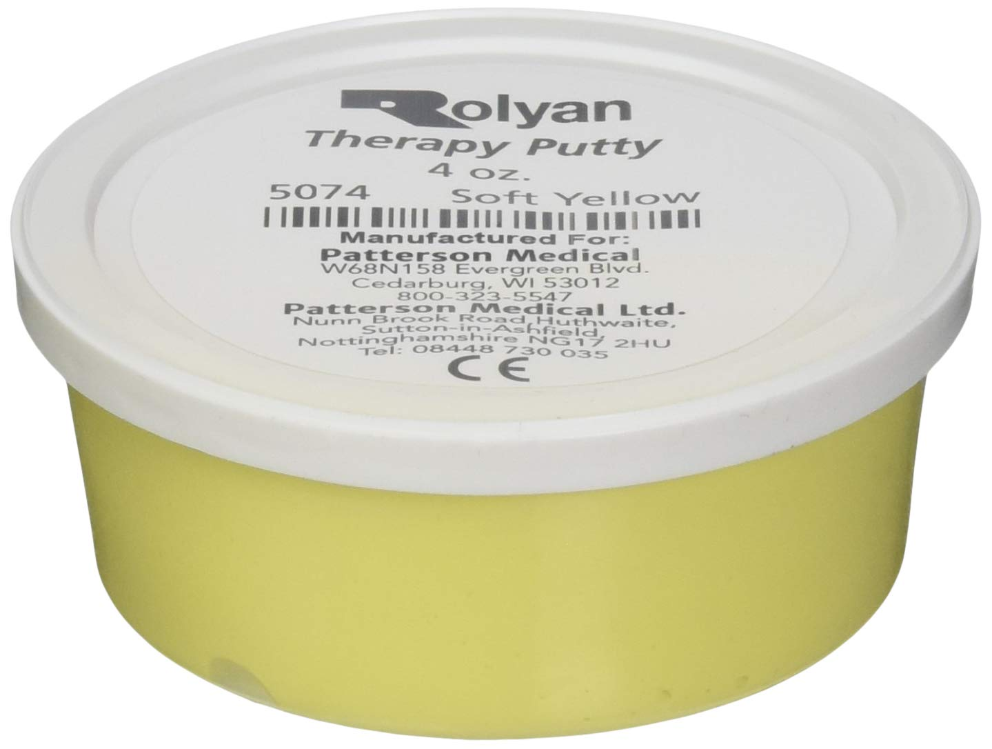 Sammons Preston Master Pack, Therapy Putty For Physical Therapy Exercises, Hand Grip and Strength Training, For Stress and Pain Relief, Occupational Therapy, Set of 10, 4 Ounces, Yellow, Soft