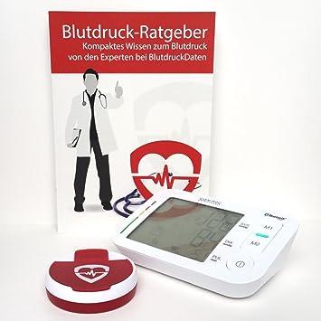 Sangre Impresión de datos premium de Juego con Tensiómetro Sanitas SBM 37: Amazon.es: Salud y cuidado personal