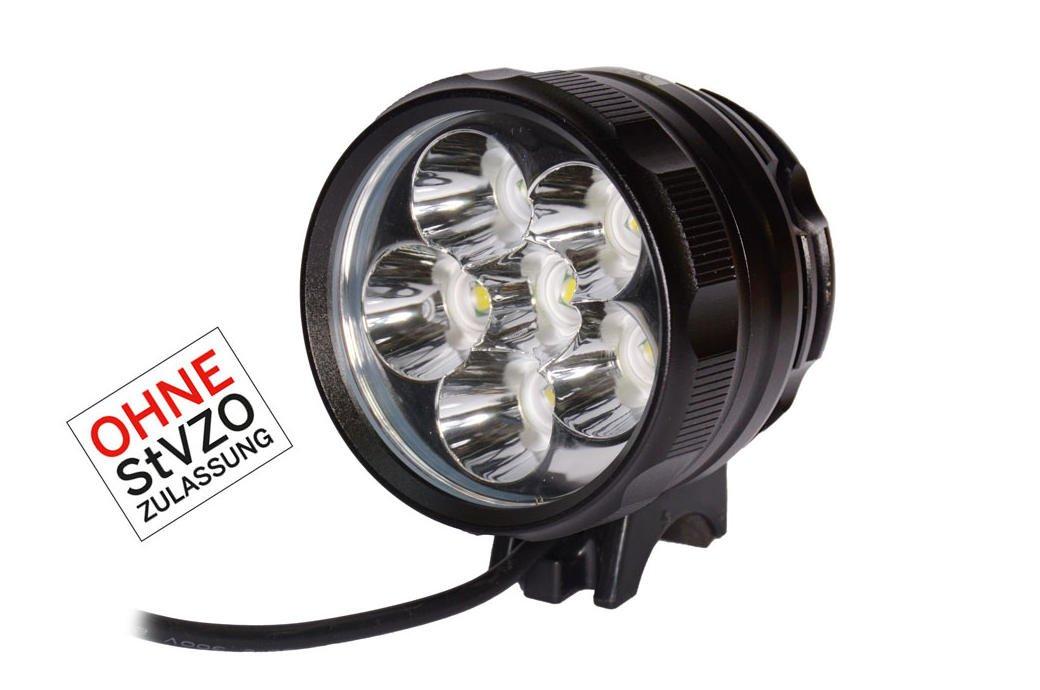 duraNOVA Sun 6000 LED Sport- Leuchte Helmleuchte