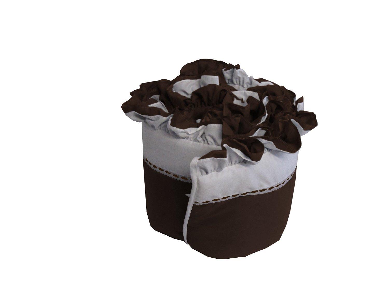 Grey 18 x 36 18 x 36 009243973645 Babykidsbargains Regal Cradle Bumper