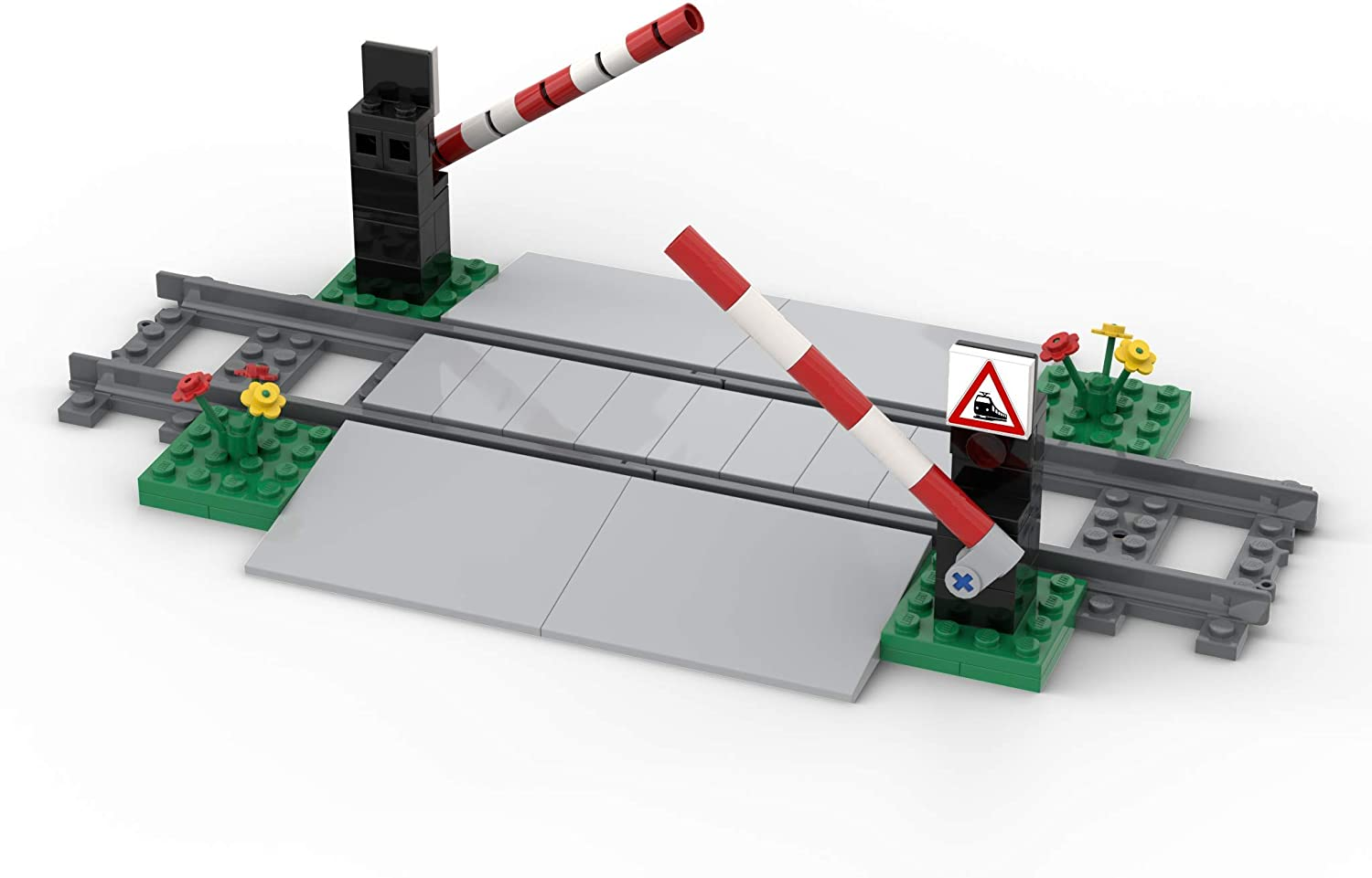 LEGO Level Crossing