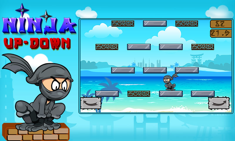 Ninja Up Down: Amazon.es: Appstore para Android