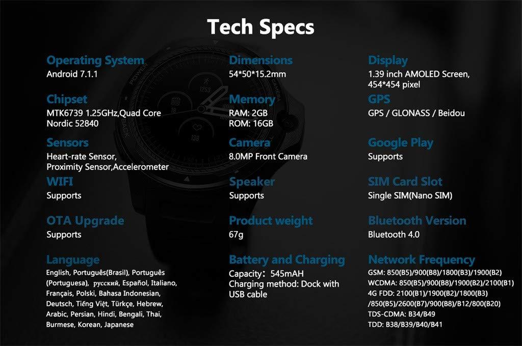 Zeblaze Thor 5 1.39 en AMOLED podómetro monitor de ...