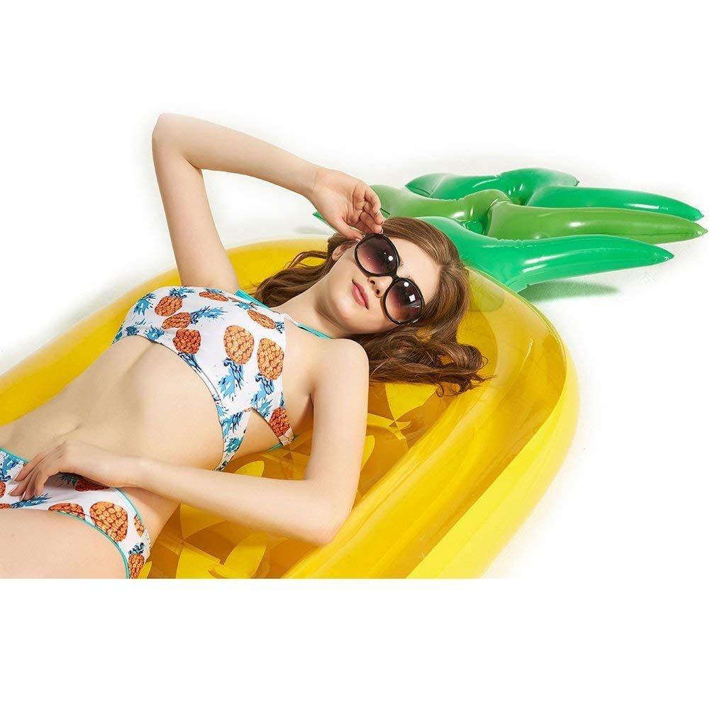 Amazon.com: VICKEA® Balsa inflable flotadora con forma ...