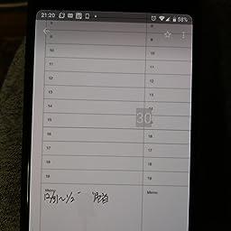 Amazon 正規品 Neo Smartpen Nプランナー 19年 1月始まり デジアナ手帳 Sync With Googleカレンダー ブラック マンスリー ウィークリー デジタルメモ 文房具 オフィス用品