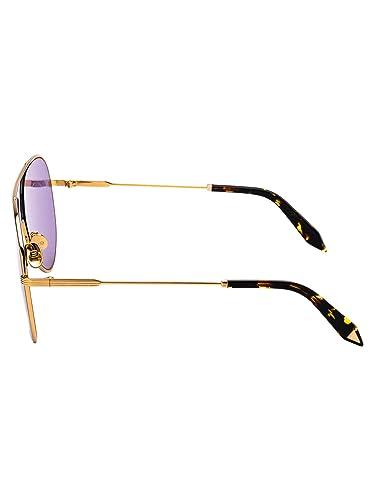 Victoria Beckham Mujer Vbs133c04rosebleu Oro Metal Gafas De ...