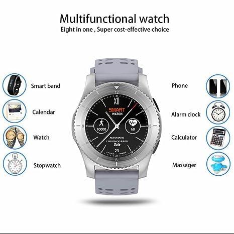 Smart Watch Mujer Reloj Inteligente Reloj Deportivo con ...