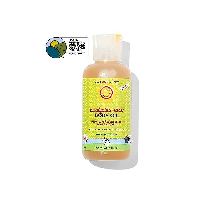 Eucalyptus Ease Massage Oil 4.5 oz