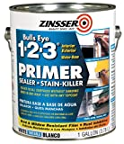 zinsser primer sealer - Rust-Oleum Corporation 02001 Water Base Primer, 1-Gallon, White