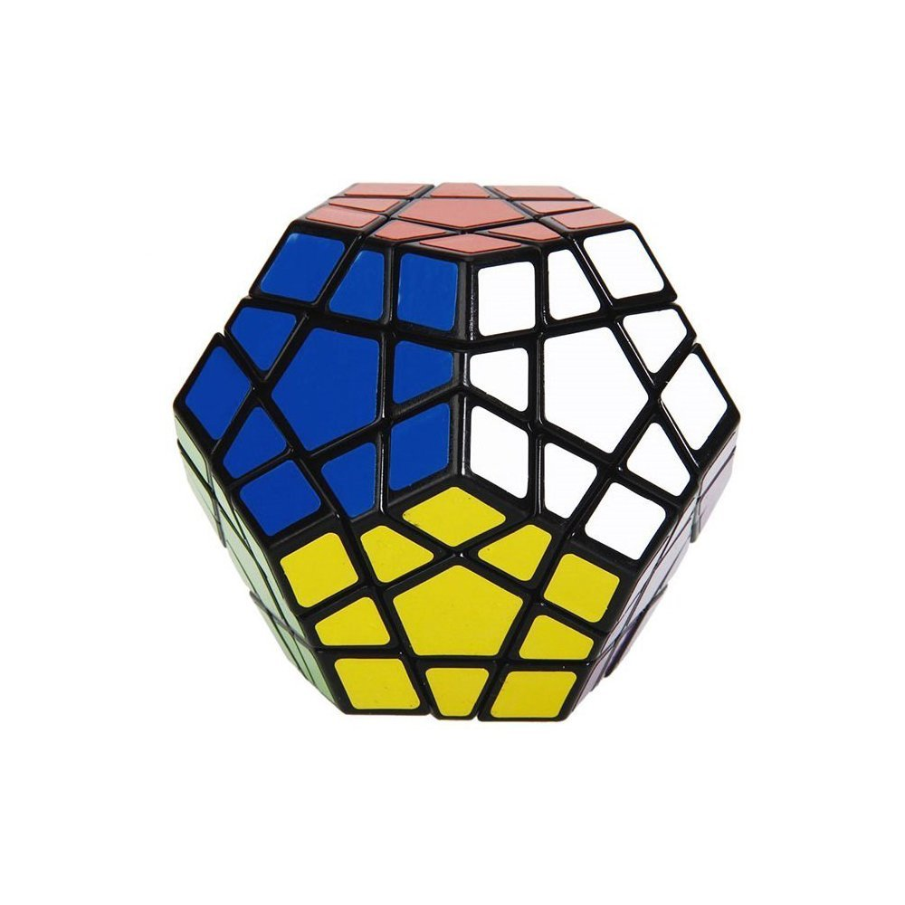 ShengShou Megaminx Speed Cube Puzzle, Black