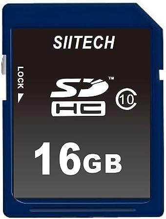 Amazon.com: siitech Premium SDHC Class 10 Tarjeta de memoria ...
