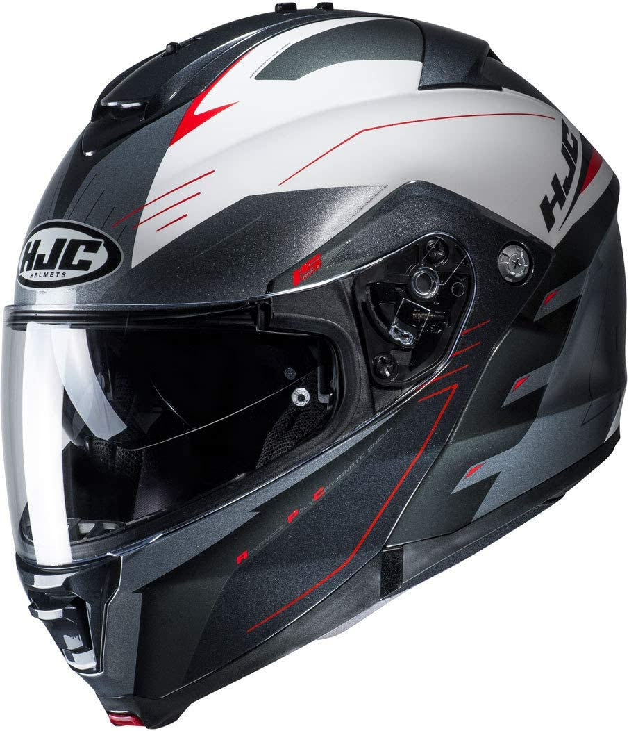 MC1SF C5SORM HJC CS-15 Songtan Motorcycle Helmet M Red