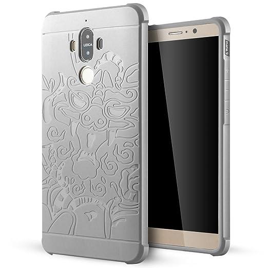 6 opinioni per Huawei Mate 9 Cover,Lizimandu Creative 3D Schema UltraSlim TPU Copertura Della