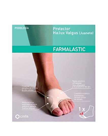 FARMALASTIC - PROTECTOR FARMAL JUANETE T P: Amazon.es: Salud y cuidado personal