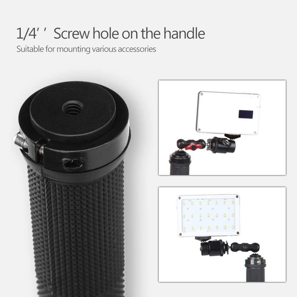 Acouto 5-Axis Spring Dual Handhelp Grip Grimbal Stabilizer Kit for Zhiyun Crane Plus//Feiyu a1000