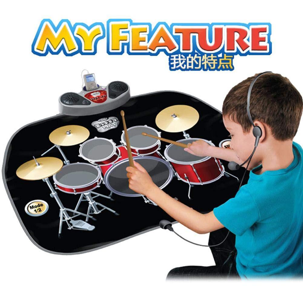 WenterT Music Dance Mat Rock Suit Educational and Educational Children's Intellectual Development Multiplayer Play Children's Toys by WenterT (Image #6)