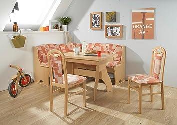 Eckbankgruppe U0026quot;BÜSUMu0026quot; Eckbank Tisch Sitzgruppe Küche Esszimmer /  Buche Natur ...