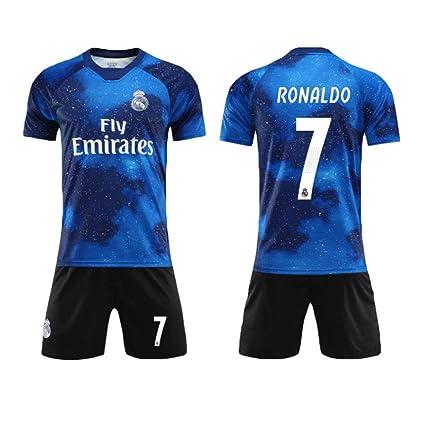 Traje De Fútbol, Camiseta del Real Madrid, No. 7 C Ronaldo ...