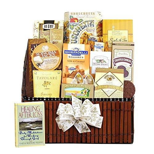 California Delicious Gift Basket, Caring Condolences Sympathy by California Delicious