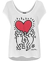 Junk Food Keith Haring Raising Heart Women's Tank Top