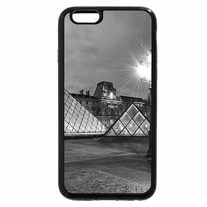 iPhone 6S Plus Funda, iPhone 6 Plus (Blanco y Negro) - Louvre ...