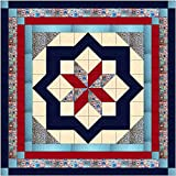 Easy Quilt Kit Constellation/Patriotic/Queen/EXPEDITED SHIPPING