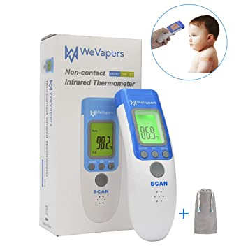 Amazon.com: Wevapers Medical Forehead Thermometer, Digital ...