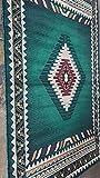 Southwest Native American Area Rug Hunter Dark Green Design D 143 (5 Feet 2 Inch X 7 Feet)