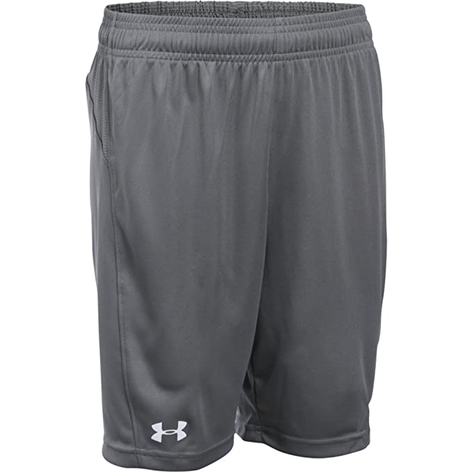 fdc27f980 Under Armour Boys' Challenger Knit Shorts, Graphite (040)/White, Youth