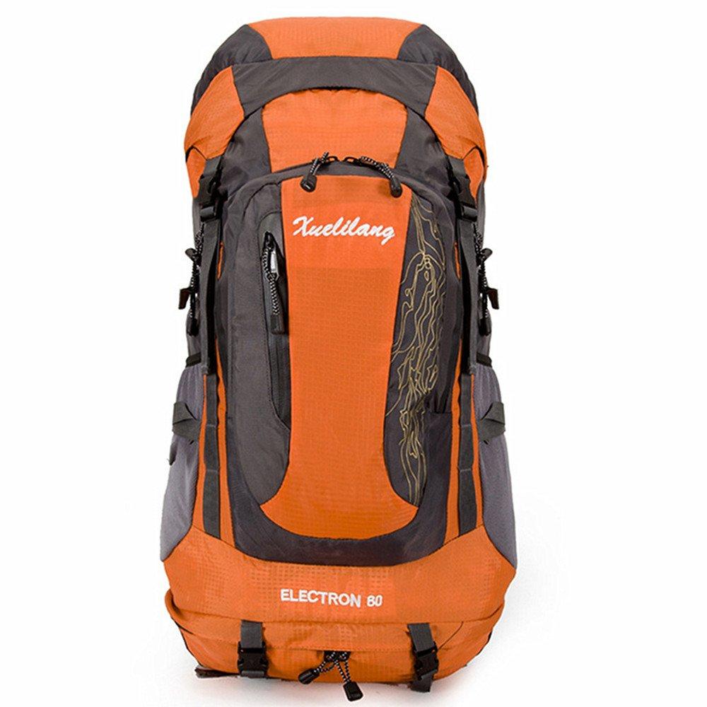 【日本製】 ユニセックス オレンジ 登山バッグ 多機能大容量 旅行キャンプ クライミング ハイキングコース オレンジ 多機能大容量 レジャースポーツ 多機能荷物袋 ニュートラル 屋外での使用に適しています 軽量野外活動バッグ (色 : 濃紺) B07QFJFM9W オレンジ オレンジ, 冠婚葬祭研究所:a36975c4 --- a0267596.xsph.ru