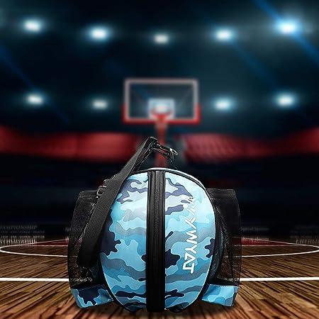 ZJW Bolsa de Baloncesto Adecuado para Deportes al Aire Libre Especialmente dise/ñado para Baloncesto