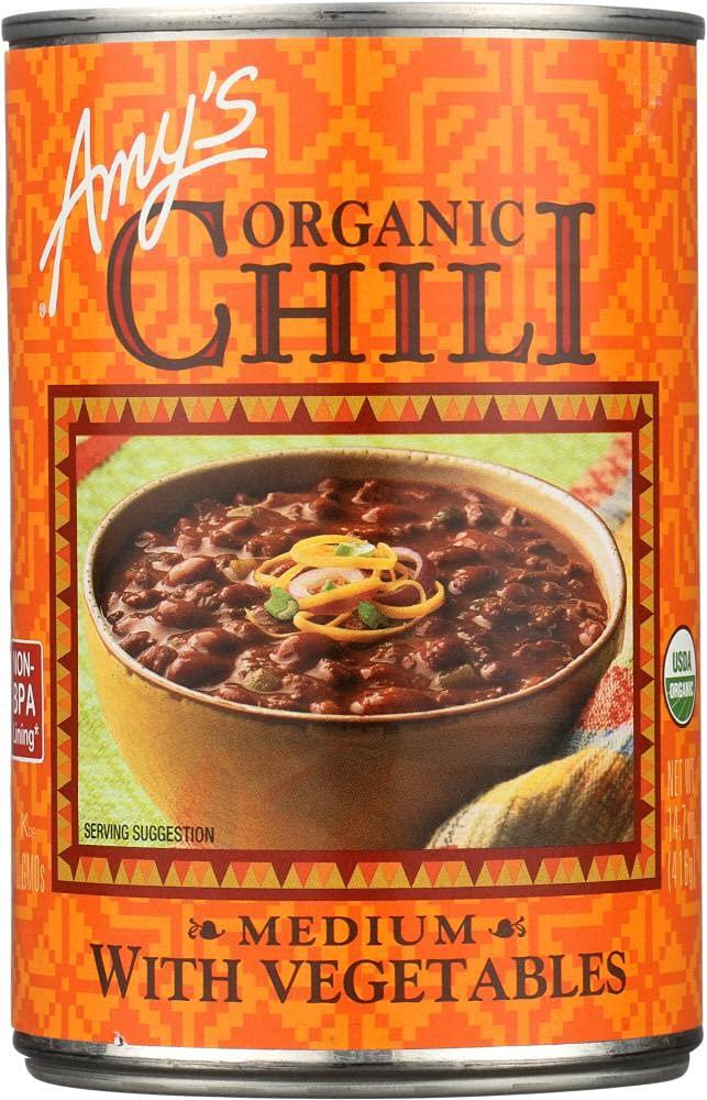 Amy's Organic Chili with Vegetables Medium -- 14.7 oz