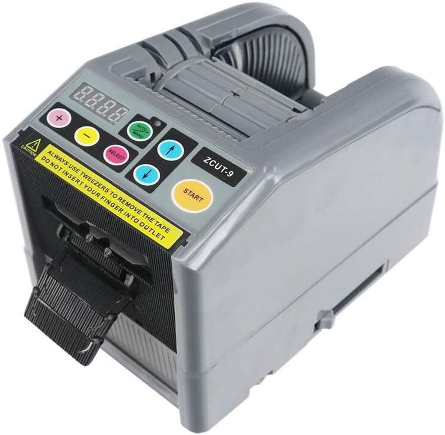 Vogvigo Dispensador de Cinta Eléctrica Máquina de Envasado de Adhesivo Cortador Automático de Cinta Adhesiva Automática