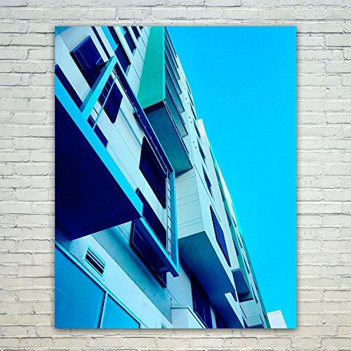 Cheap  Westlake Art Building Blue - 16x20 Poster Print Wall Art - Modern..