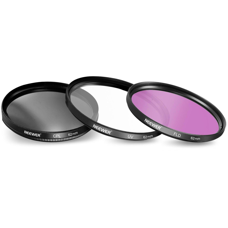Kit Filtri e Accessori per Canon Nikon Sony Samsung Fujifilm Pentax e altre Fotocamere DSLR con Filettatura 67mm Neewer
