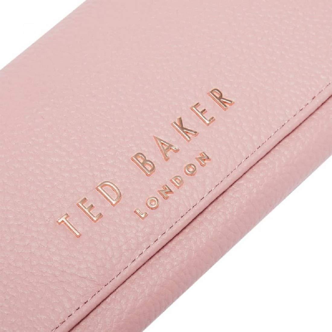 Ted Baker Lura Dusky - Monedero de Piel con Textura, Color ...