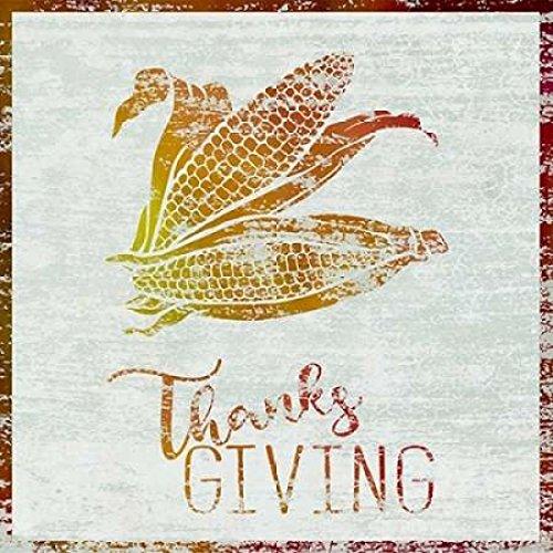 24 x 24 Thanksgiving Corn Poster Print by Cora Niele