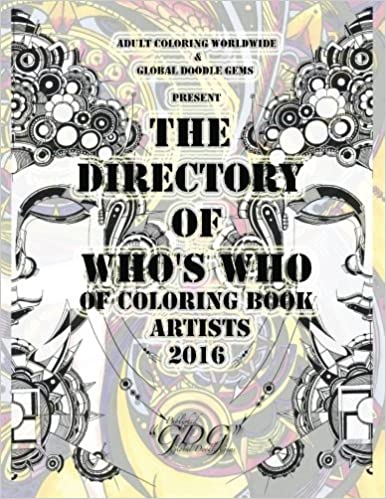 Amazon.com: The Directory Of Who\'s Who of Coloring Book Artists 2016 ...