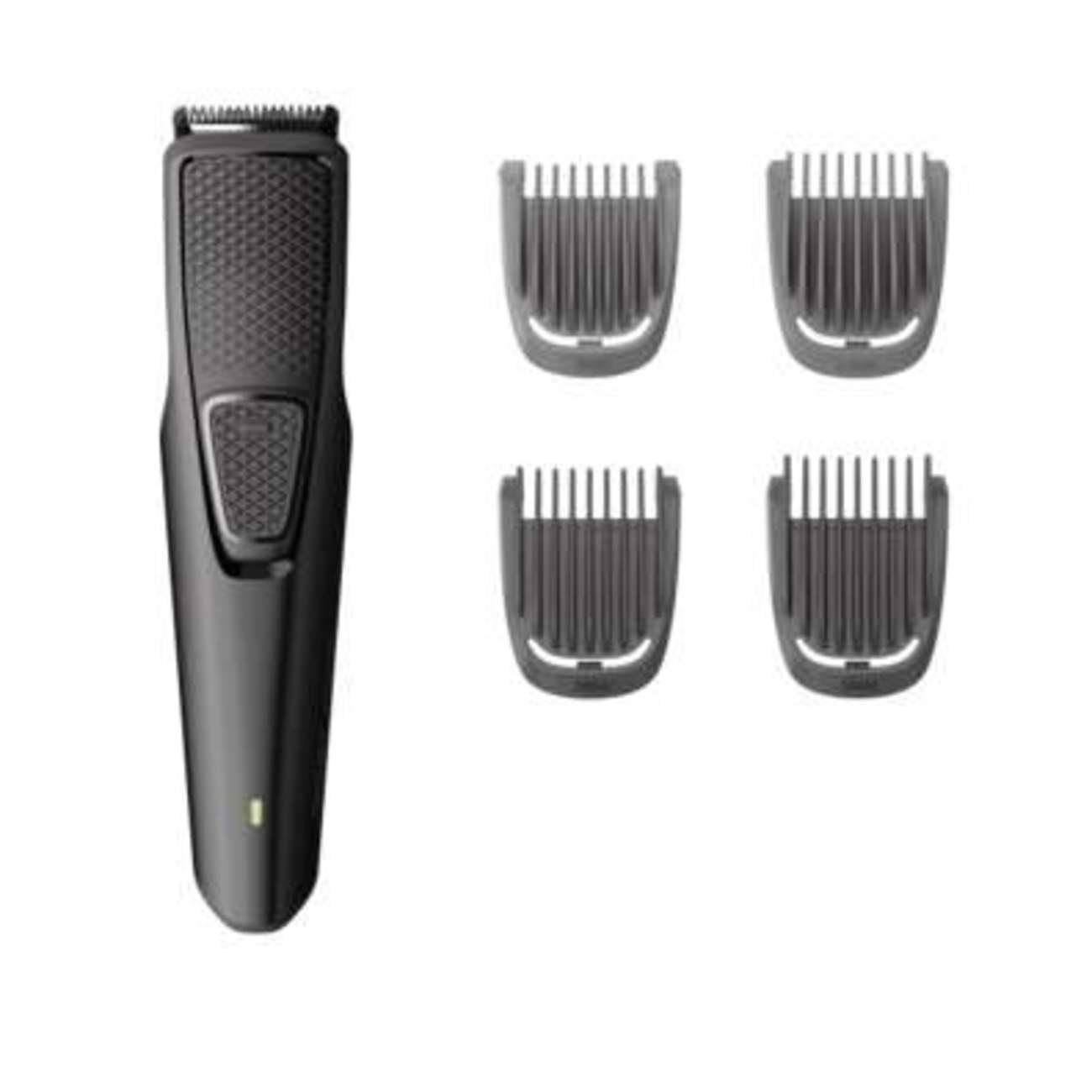 Philips Norelco Beard Trimmer BT1217/70 - cordless grooming, USB rechargable, beard, stubble, and mustache