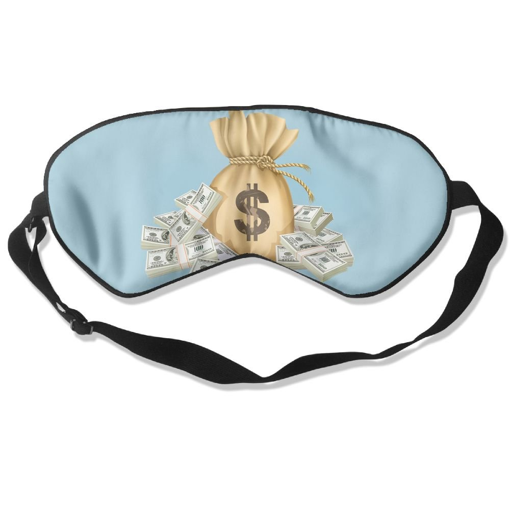Sleep Mask Money Bag Eye Cover Blackout Eye Masks,Soothing Puffy Eyes,Dark Circles,Stress,Breathable Blindfold