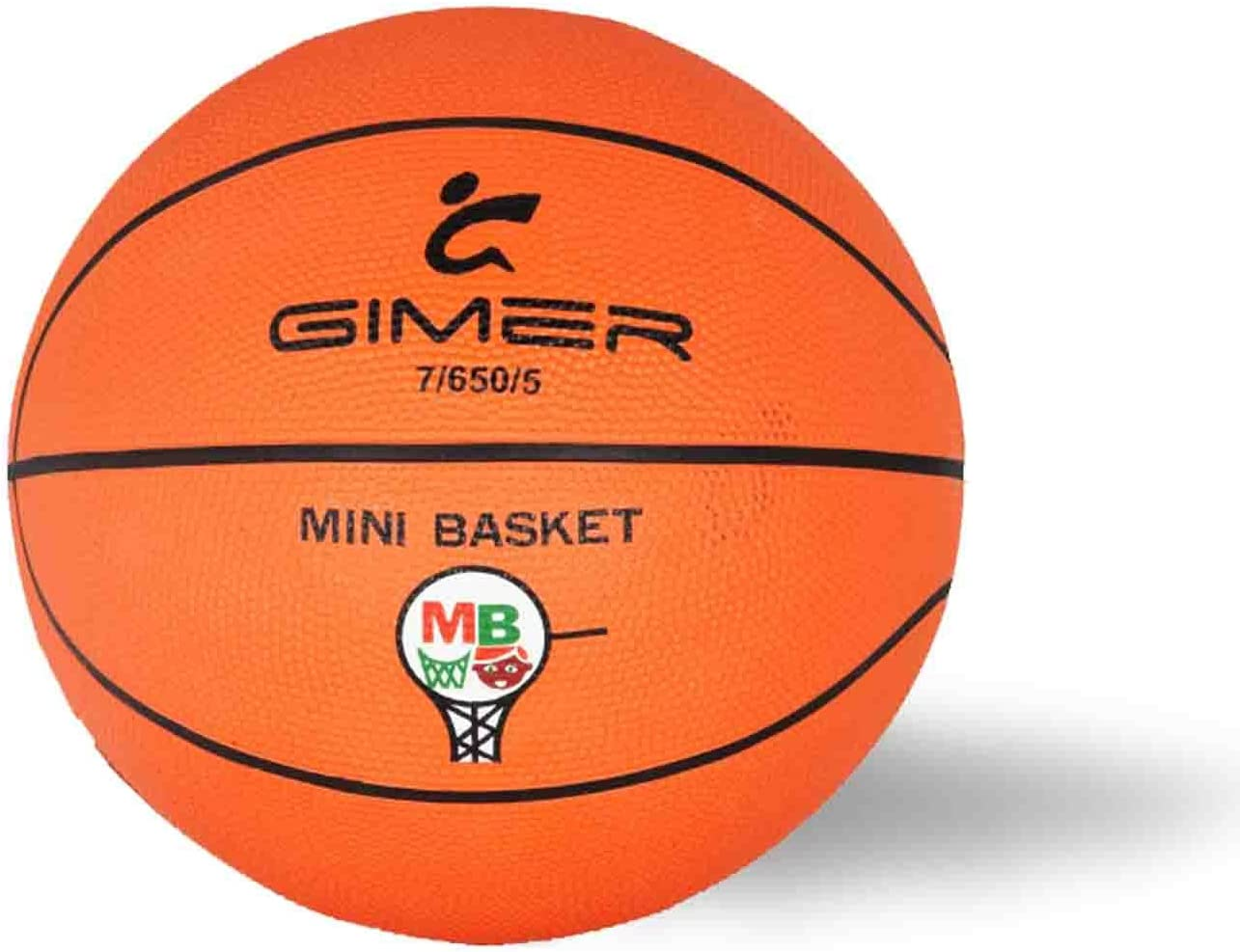 GIMER Balón de Baloncesto y Mini Basket Ball Official Size ...