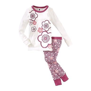 7967c84f48ef Amazon.com  Tea Collection Little Girls  Cherry Blossom Pajama ...
