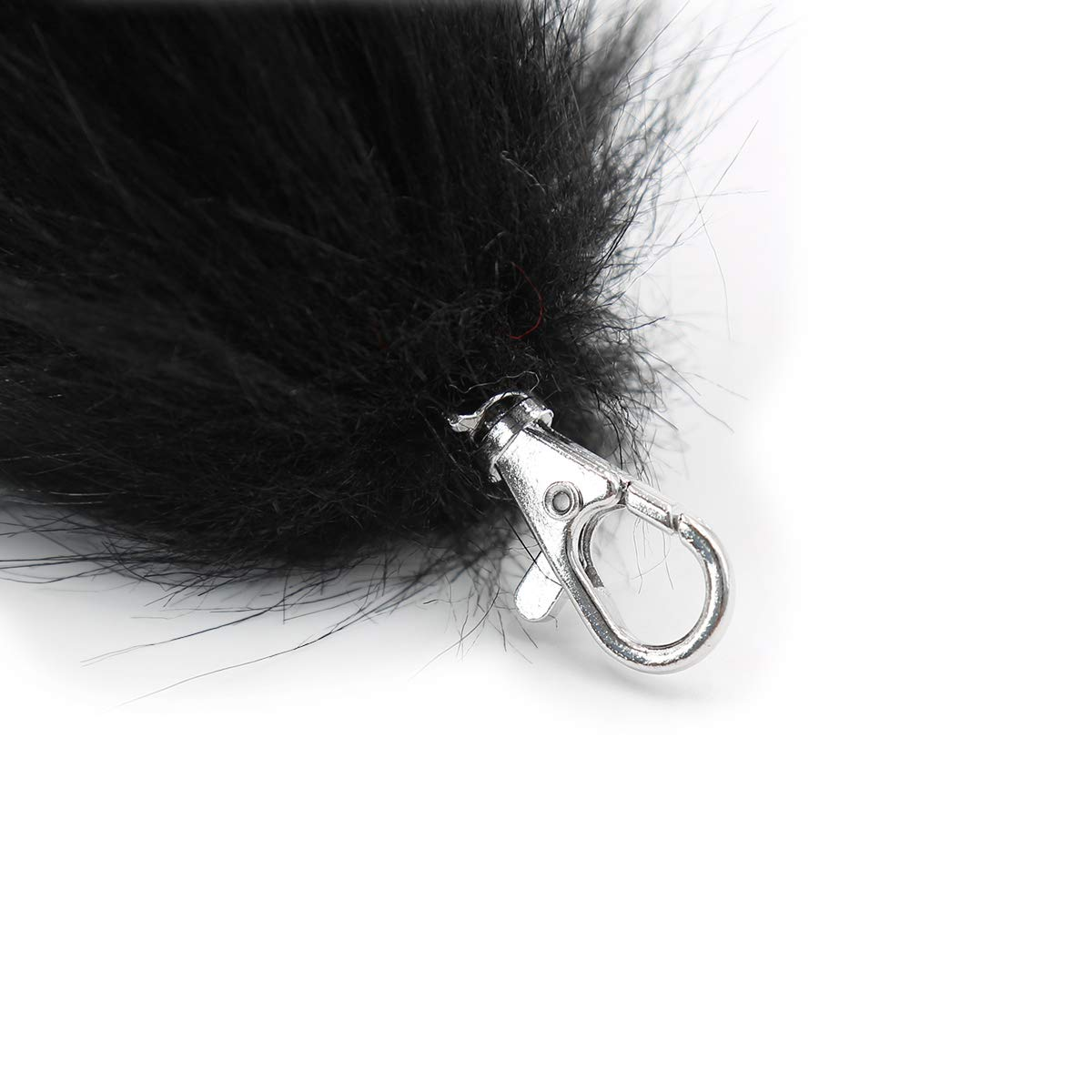 Fluffy Stainless Steel Fox Tail Unisex Adult Fancy Dress Cosplay Costume Halloween Party