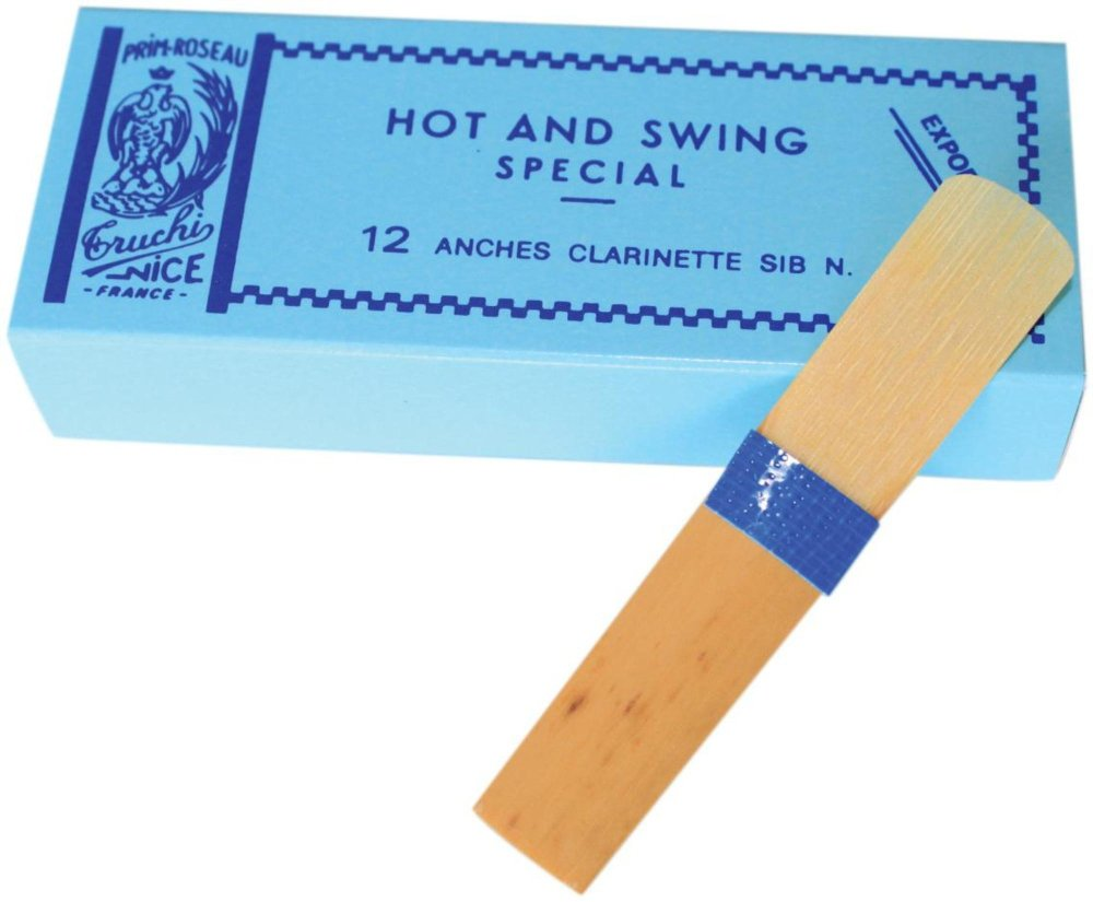Rigotti Hot and Swing Reeds for Bb Clarinet Strength 2 Box of 12
