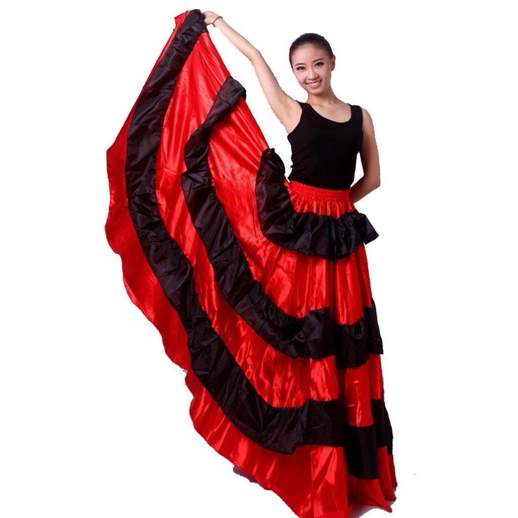 530082b8a4eb Amazon.com: OEM Spanish Bull Dance Skirt Spanish Skirt Flamenco: Clothing