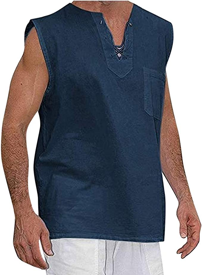 VRTUR Verano Elegante Camisa De Hombre De Temperamento Camisa De Manga Corta De AlgodóN De Lino De AlgodóN Multicolor Ocasional De Los Hombres De Moda, 2019 Nuevo: Amazon.es: Ropa y accesorios