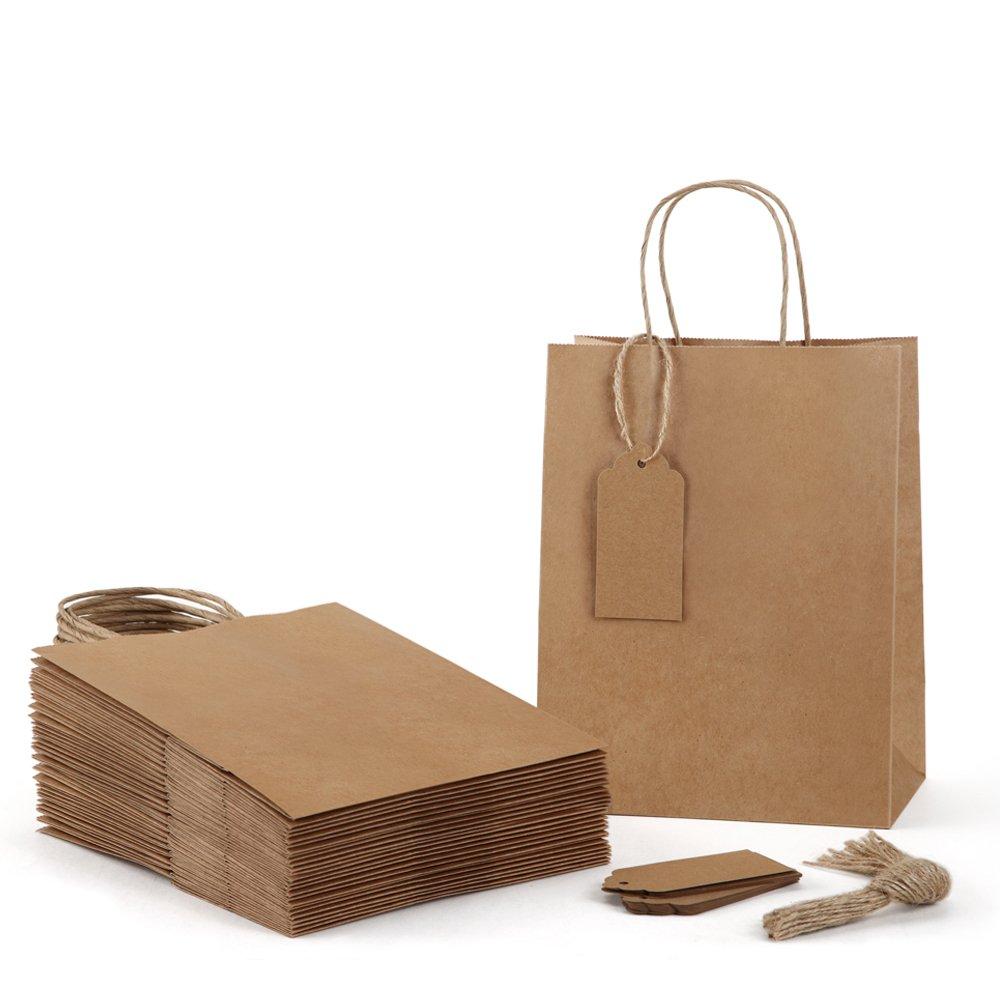 Amazon.com: Bolsas de regalo de 7.9 x 4.7 x 10.6 in BagDream ...